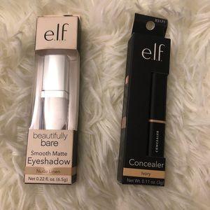 5️⃣✖️2️⃣5️⃣✨ ELF Concealer and eyeshadow new
